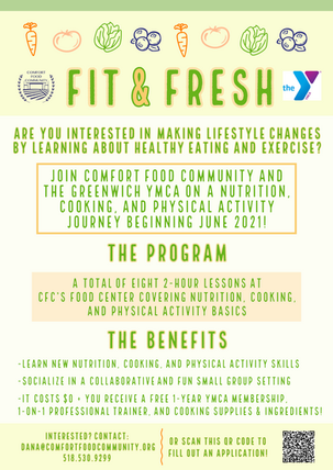 CFC and Greenwich YMCA launch Fit & Fresh!