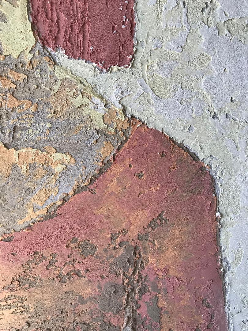 Portrait in deecorative plaster #3