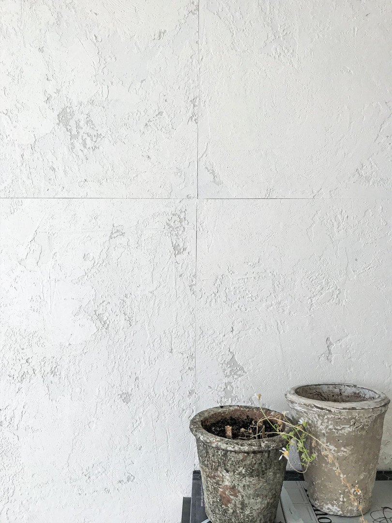 Pure Texture/ Simple White Tiled