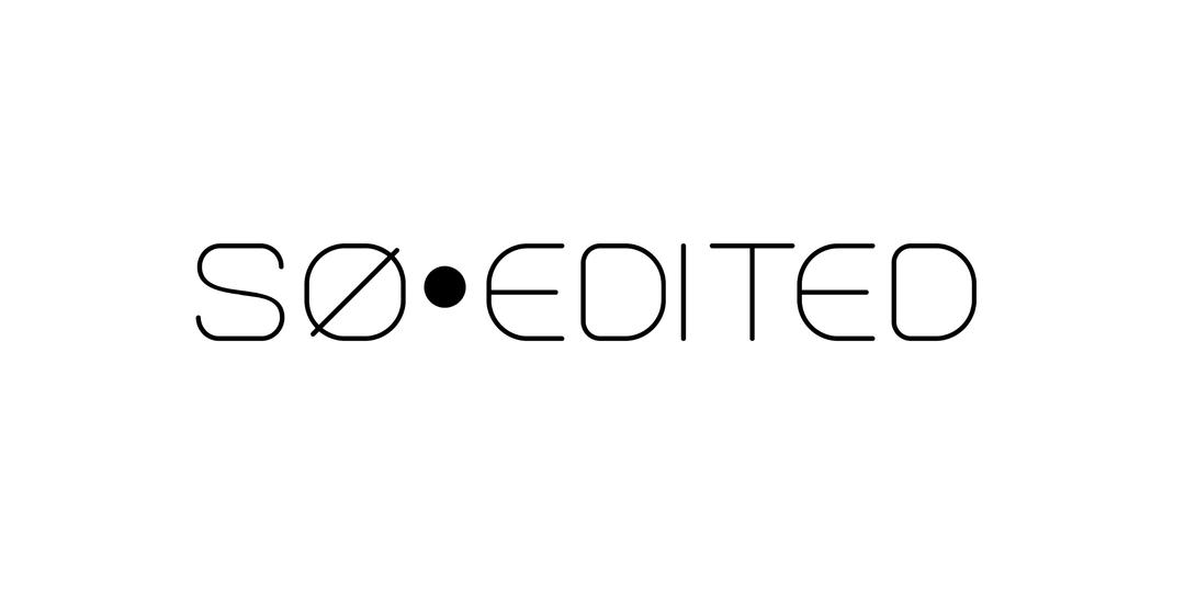 So Edited Digital magazine logo