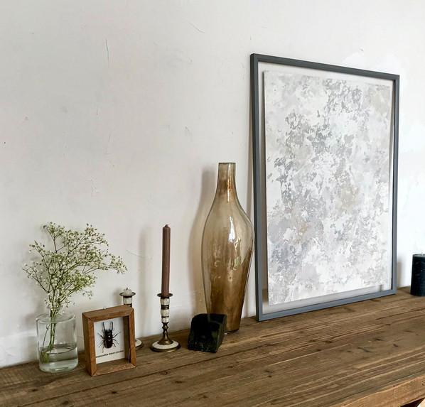 Grey Stone Artwork No.4