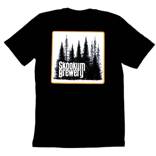 Skookum Brewery Tree Silhouette T-Shirt