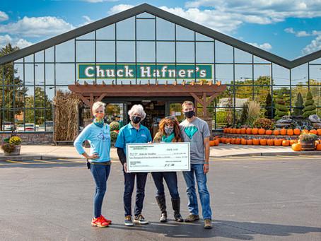 Chuck Hafner's Farm Market Hosts Register Roundup for Ovarian Cancer Sept. 2020