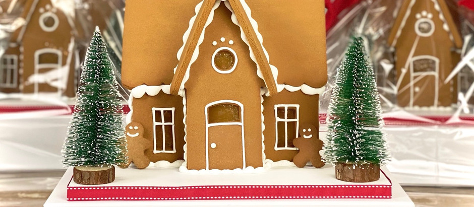 Delivering happiness to homes one gingerbread house at a time!