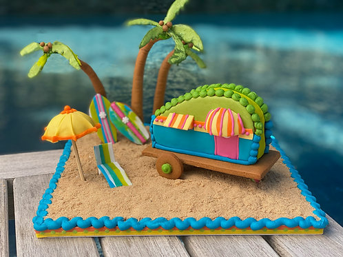 Sweet Summertime Beach Camper 'How To'