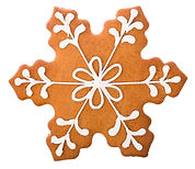 Beautiful and delicious gingerbread Chri