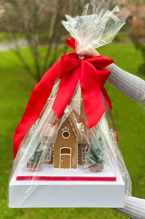 Limited Edition 2020 Holiday Gingerbread House Decorating Kit