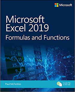 Excel 2019 Formulas and Functions