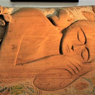 Film: creating a bass relief sculpture