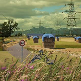 Film: Amongst pylons and haystacks