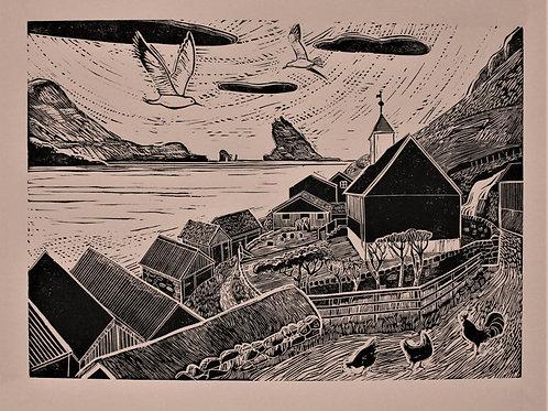 Bøur. Faroe Islands