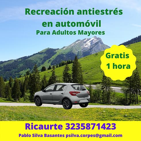 1. Recreación antiestrés en auto Ricaurt