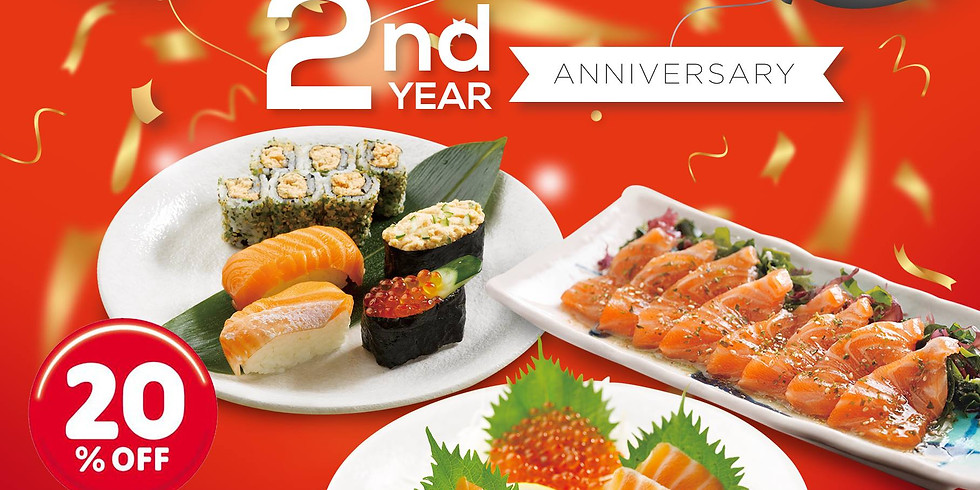 2nd Year Anniversary Promotion