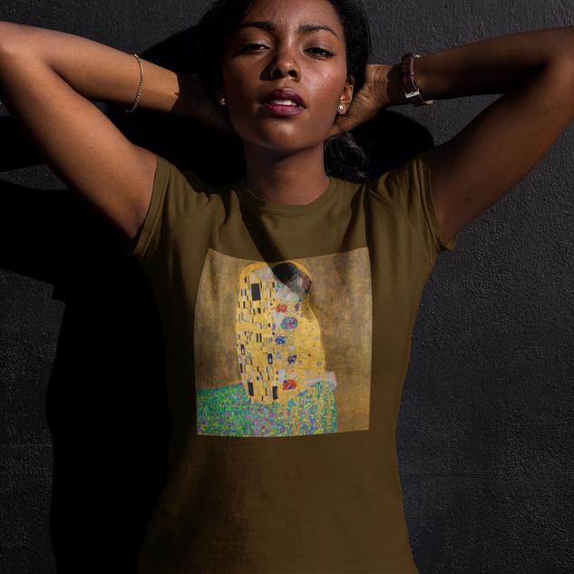 Art T-Shirt Kiss