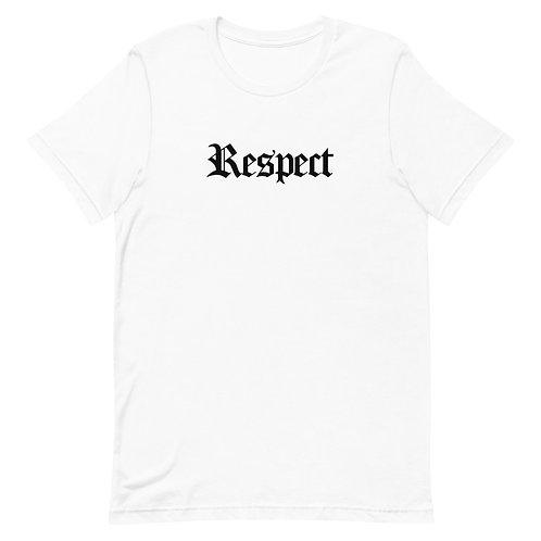 Respect T-Shirt White
