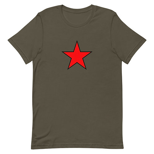 Rebellion T-Shirt Red Star