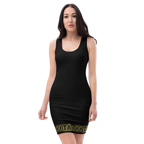 Sublimation Cut & Sew Dress Taboo Black