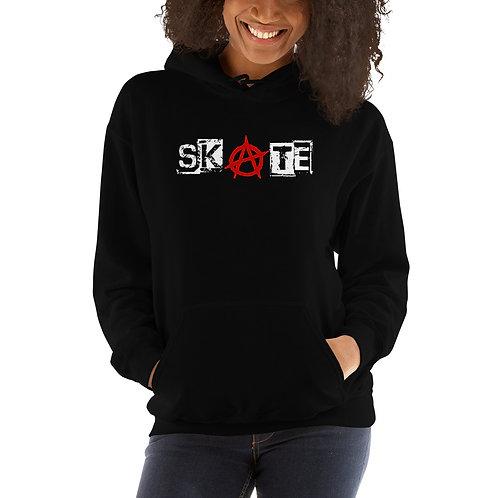 Unisex Hoodie Skate Black