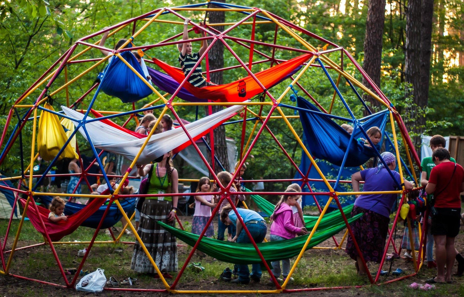 Геокупол на фестивале