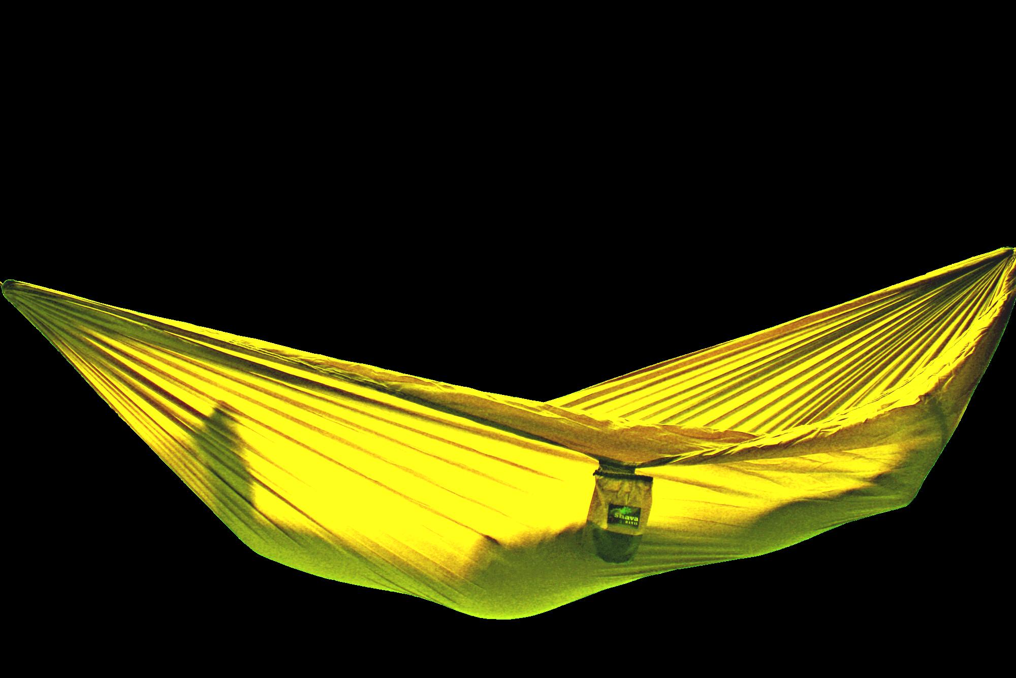 Гамак Elite желтый