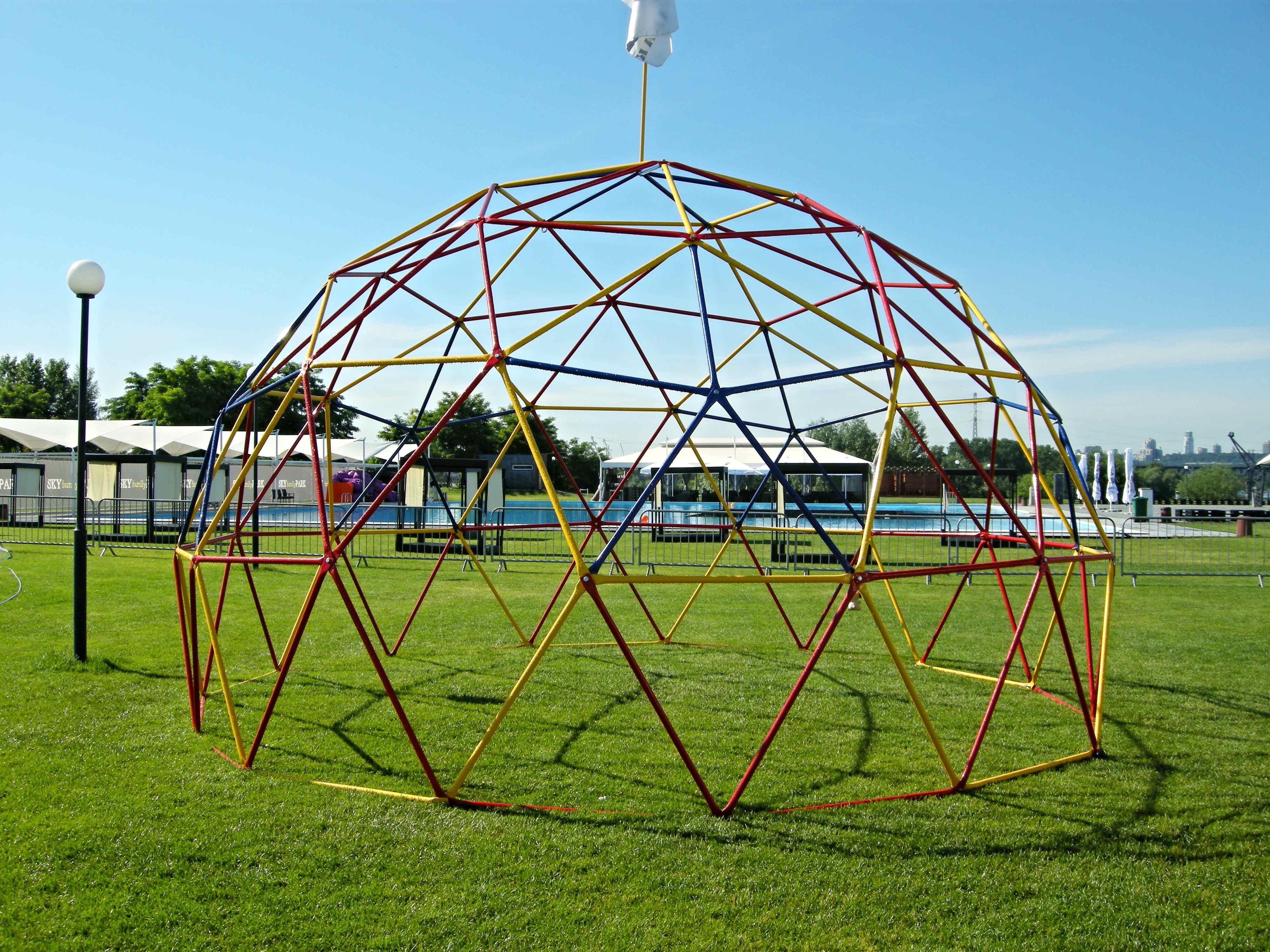 Геокупол диаметр 6м высота 3,5м