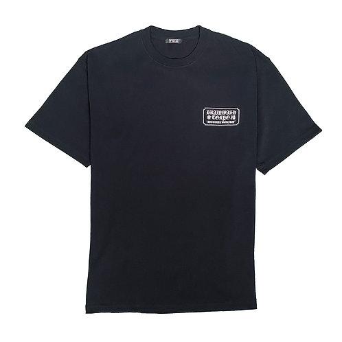幸福 Big T-shirts(black)