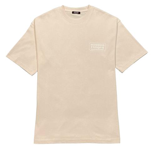 幸福 Big T-shirts(beige)