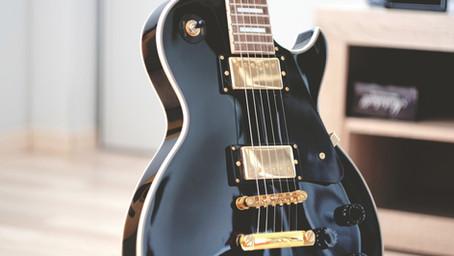 1.20.21 Onderdelen elektrische gitaar