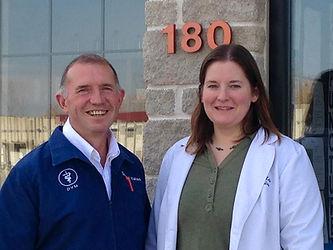 Dr. Paul Yatso and Dr. Kate Carlson