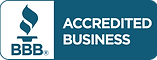 Accredited through Better Business Bureau