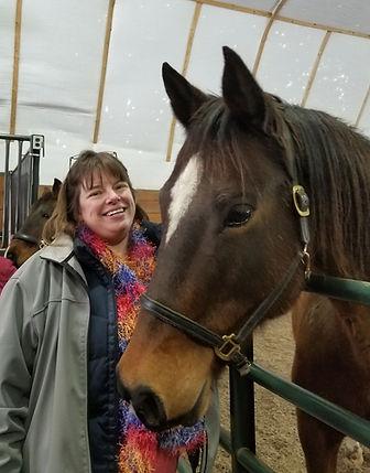 Kari Beth with horse