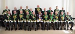 Grand Lodge of Scotland attending the rededication ceremony of Lodge Blackridge 1145
