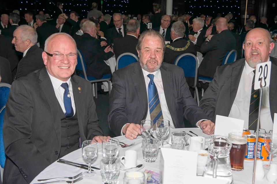 George, Ronnie, Allan