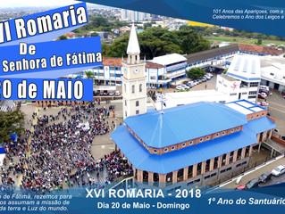 Maio: Novena Santuário Nossa Senhora de Fátima
