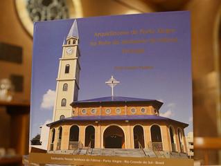 """Lançamento do Livro """"ARQUIDIOCESE DE PORTO ALEGRE NA ROTA DO SANTUÁRIO DE FÁTIMA - PORTUGAL&quo"""