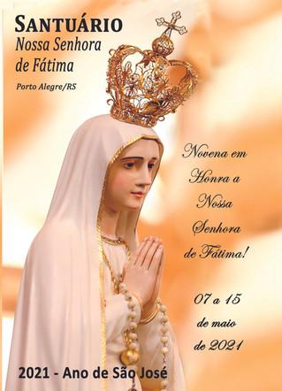 Novena em Honra a Nossa Senhora de Fátima!