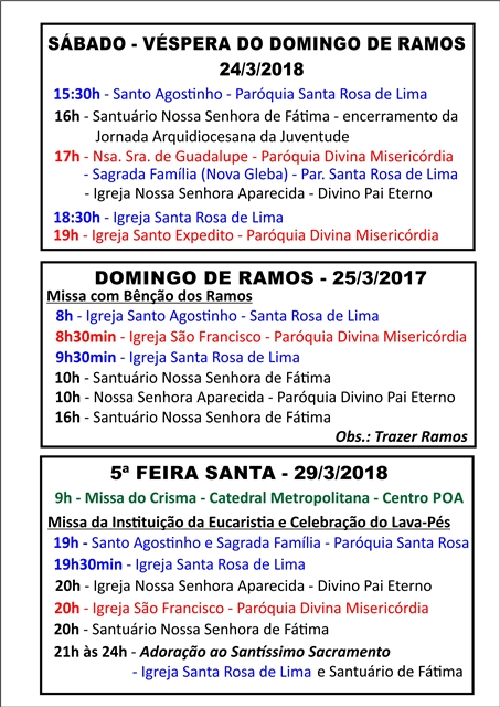 01 Domingo de Ramos e Quinta
