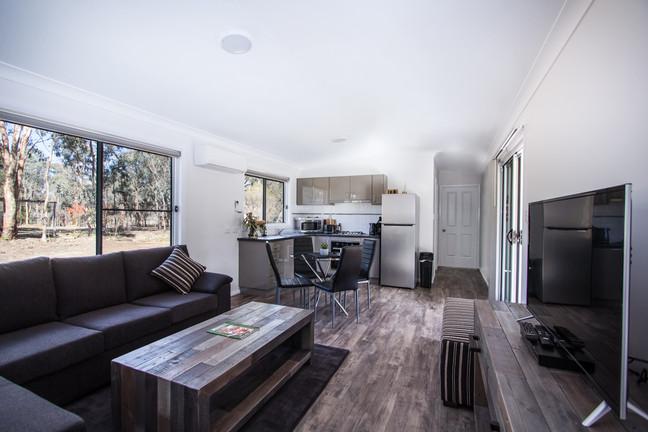 Rosewood Cottage living room