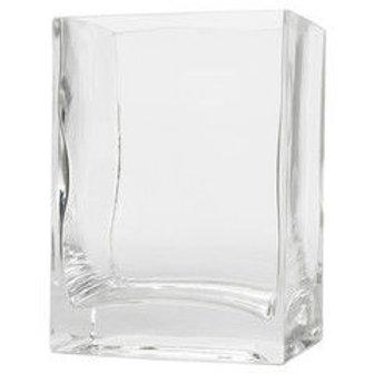Квадратная ваза на свадьбу