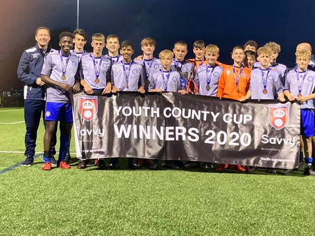 Oakwood Youth U14 Win The Hampshire Cup!