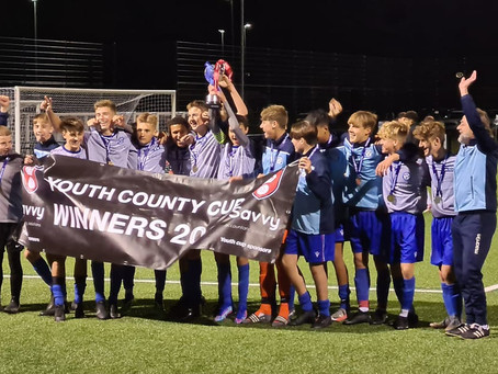 Oakwood Youth U15s Win The Hampshire Cup 5-2 against Bracknell Town