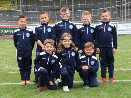 U7 Terriers Win The Super Cup Final In Style!