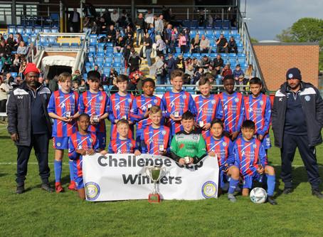 Oakwood Jets Win The U12 Challenge Cup Final