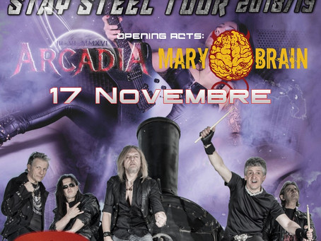 MARY BRAIN live@MK Live Club (opening act for Crying Steel) - 17/11/2018