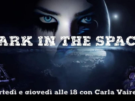 PodCast MARY BRAIN interview on Dark In The Space - Radio Spazio Ivrea