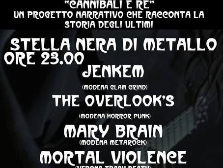 MARY BRAIN live@Stella Nera di Metallo - 15/09/2018