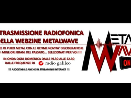 MARY BRAIN ospiti a Metalwave On-Air su Radio Galileo - Domenica 28 Giugno ore 21:00
