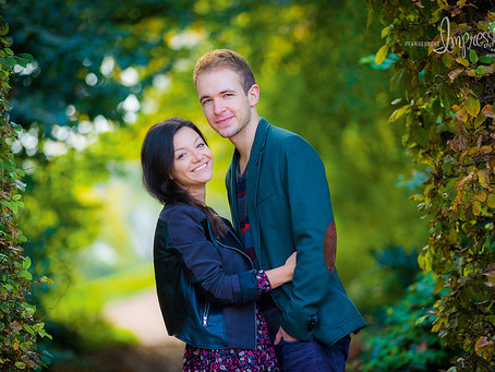 Sandra & André | Herbstspaziergang durch Dresden