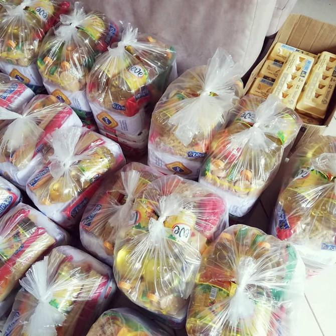 Coletivo Abrigo doa mais de 600 kg de alimentos e realiza outras ações sociais durante a pandemia
