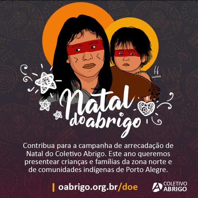 Campanha de Natal do Coletivo Abrigo chega à Aldeia Anhetenguá e à Vila Elizabeth